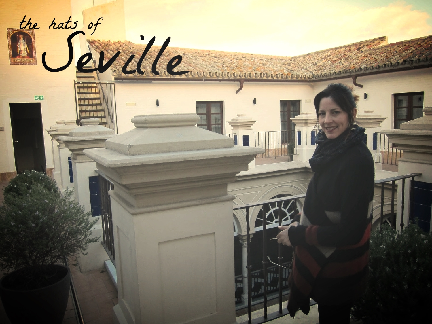 Enjoying a break in Seville, Spain
