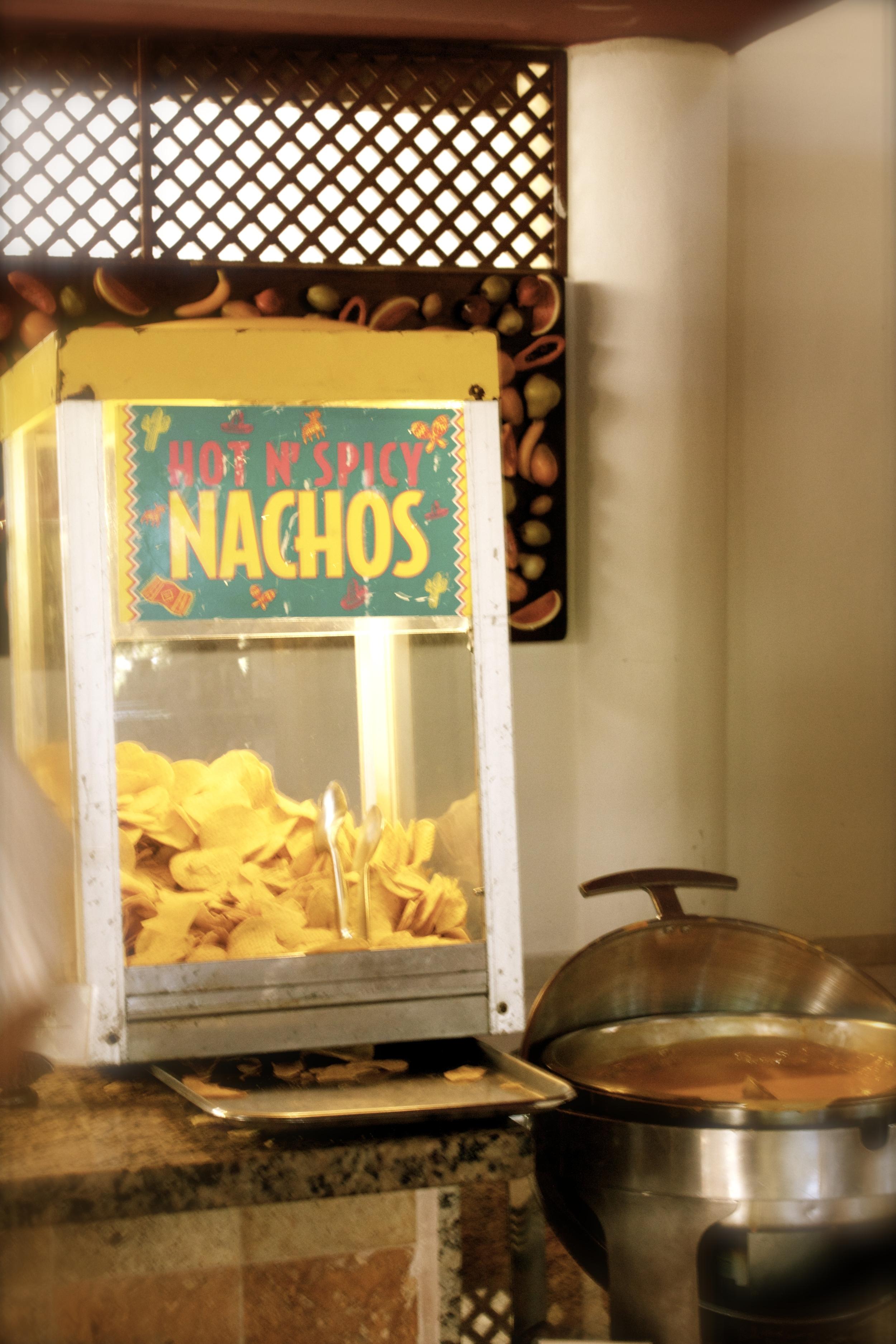 Nacho Bar at the Buffet