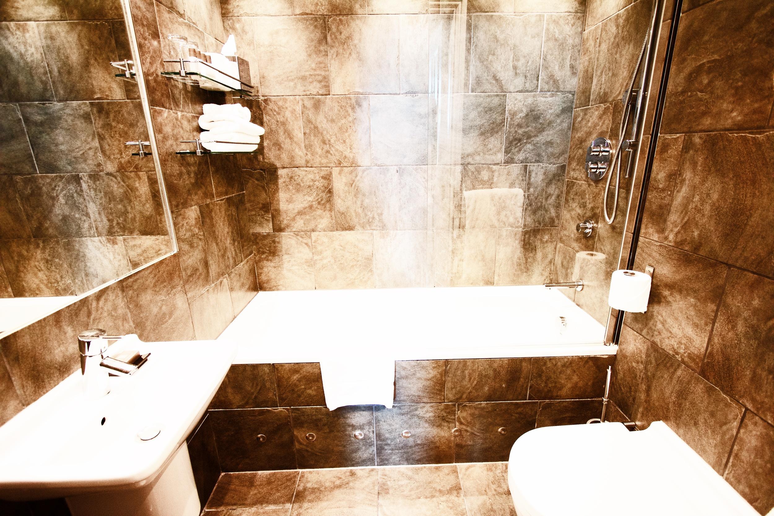 Petite Double Bathroom
