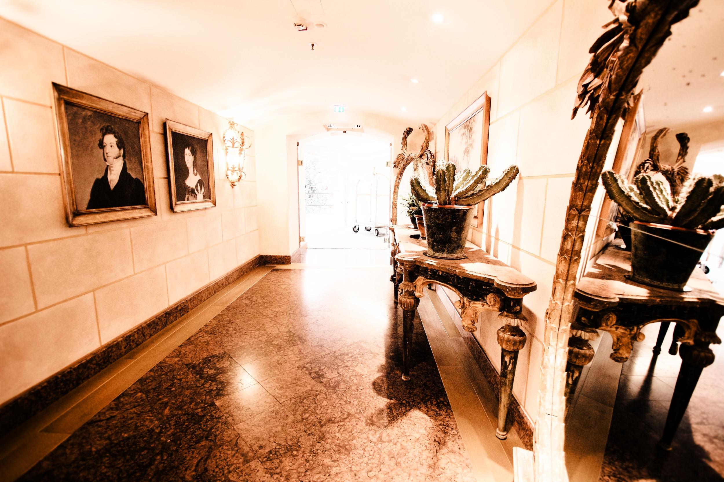 The Villa Hallway