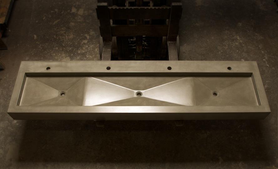 Triple Basin Concrete Trough Sink / by Gore Design Co.