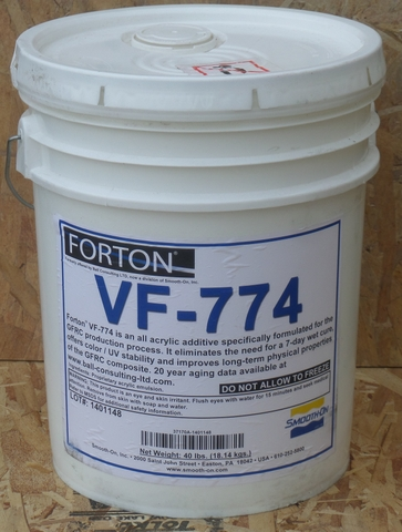 Forton VF-774 for GFRC Liquid Polymer from Smooth-On