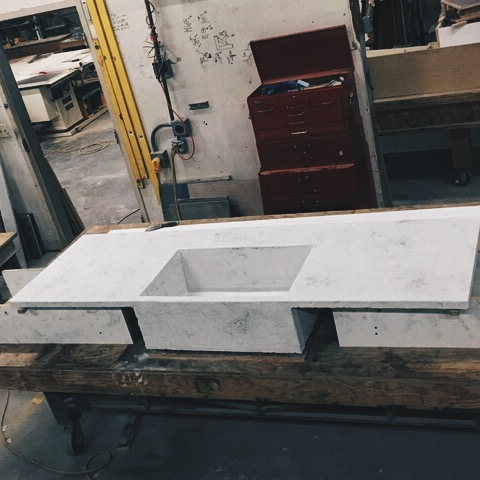 Learn to cast sinks upright in the upcoming class