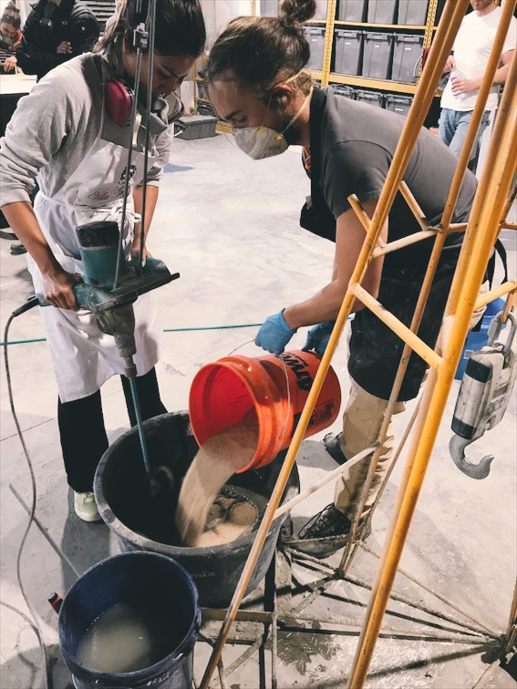 Mixing concrete. There's a lot more to it than just blending materials. Join us for a workshop to learn how to do it right.