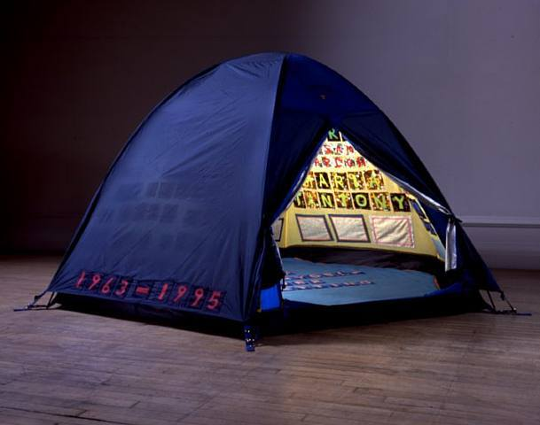 "Tracey Emin, ""Everyone I Have Ever Slept With 1963-1995"" (1995)"