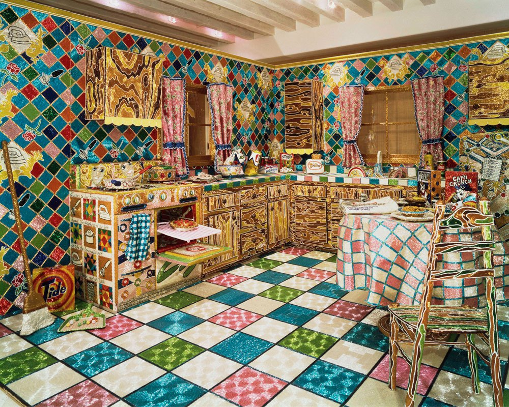 "Liza Lou, ""Kitchen"" (1991-1996)"