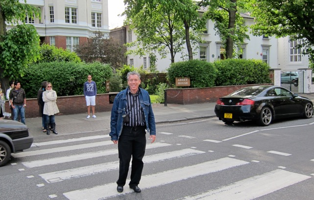 In 2011, I made the famous zebra crossing at St. John's Wood, site of Abbey Roads Studio.