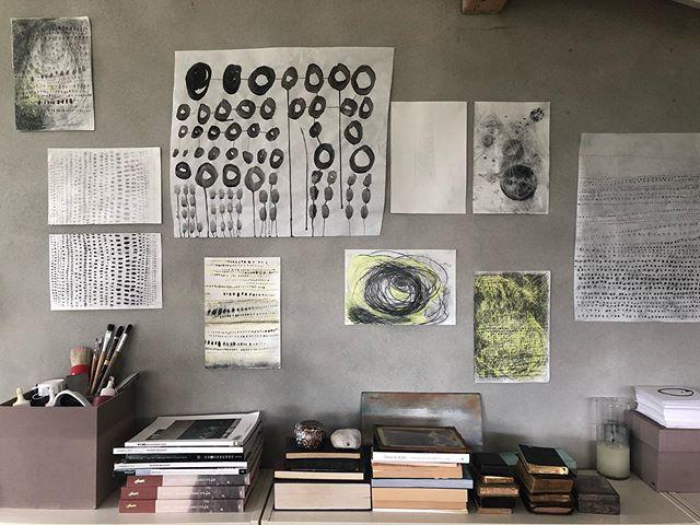 CIRCLES ⚫️⚫️⚫️ #athousandcircles #focus #meditation #theprocessnotthegoal #meditationart #conceptart #doodles