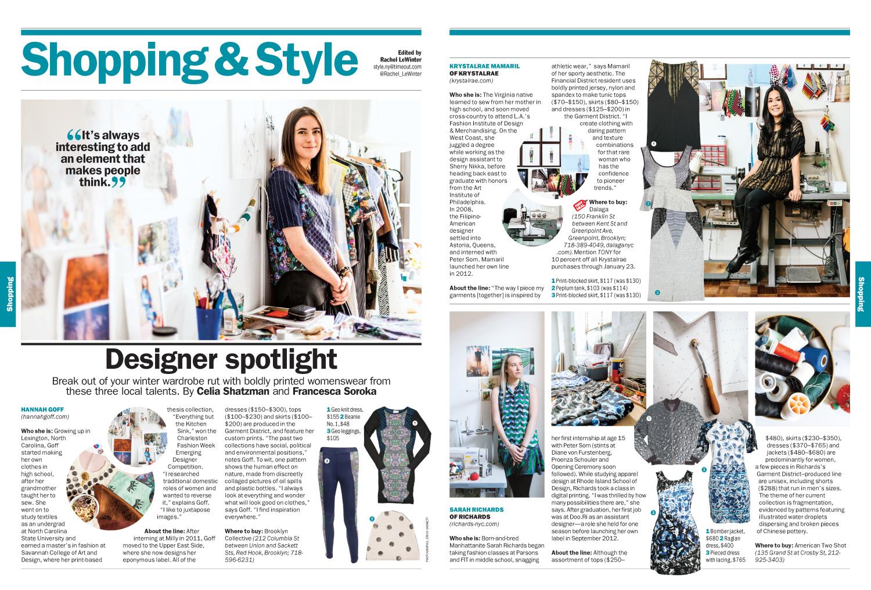 Designer Spotlight: Local bold prints for women