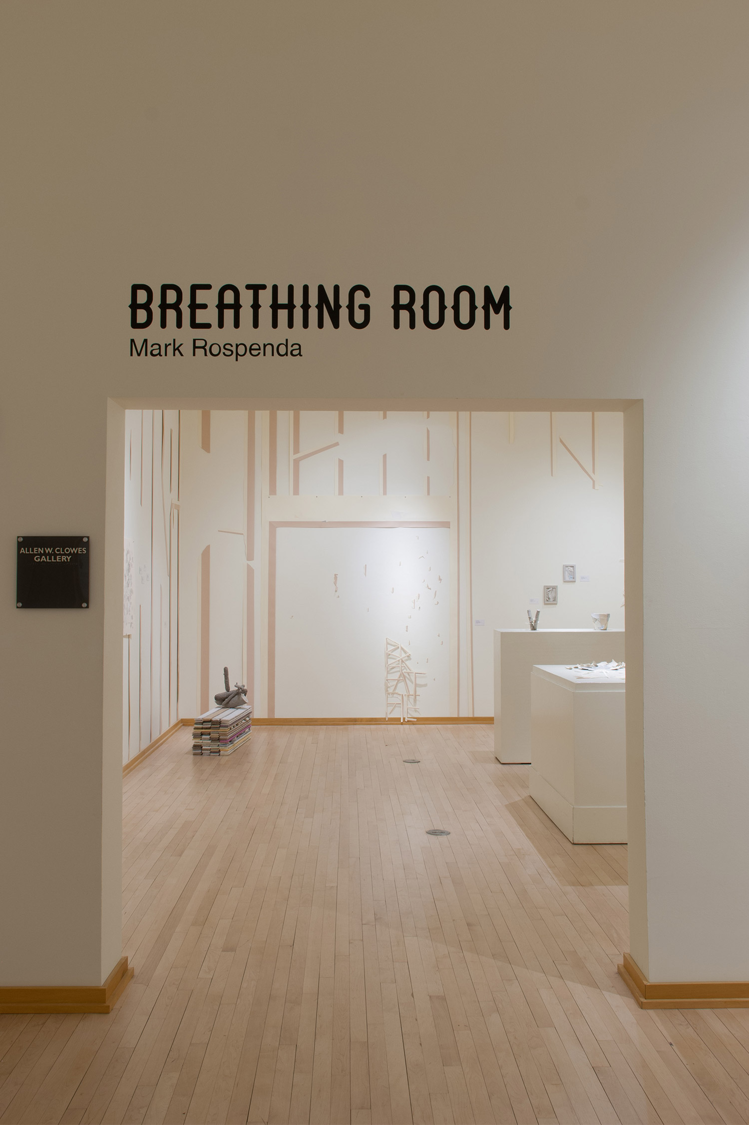 Breathing Room installation view