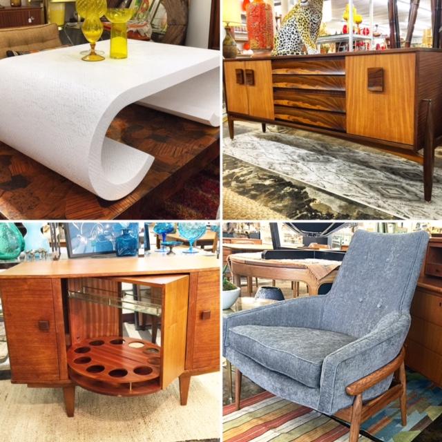 Uptown Modern, Vintage Furniture Austin, texas