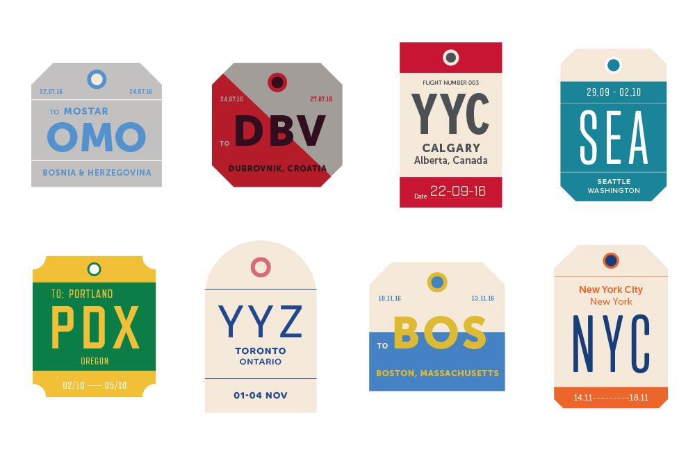 City Labels