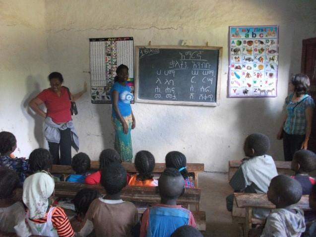 Inside an Open Way classroom