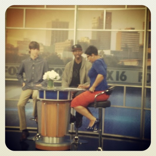 (3.24) On Fox 16 speaking about Global Kids-Arkansas with Kye Masino of  KYE-YAC