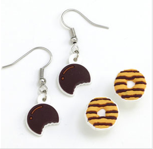 samoas and thin mint earings