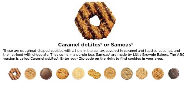 Caramel deLites or Samoas