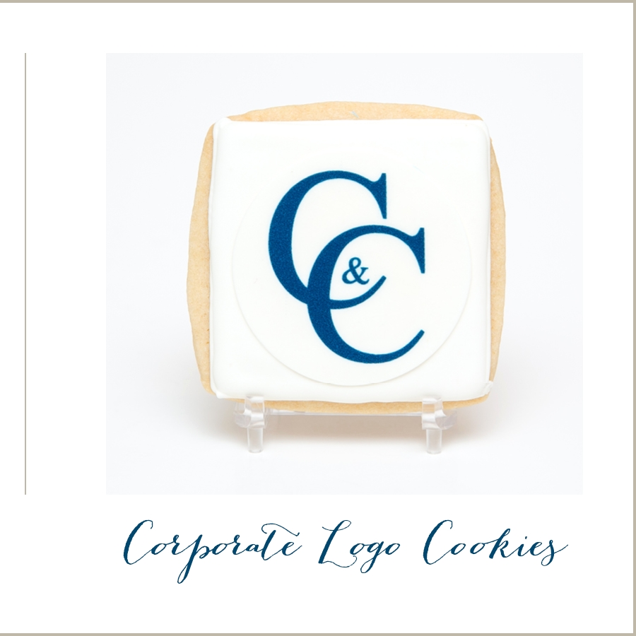 Corporate Logo Cookies