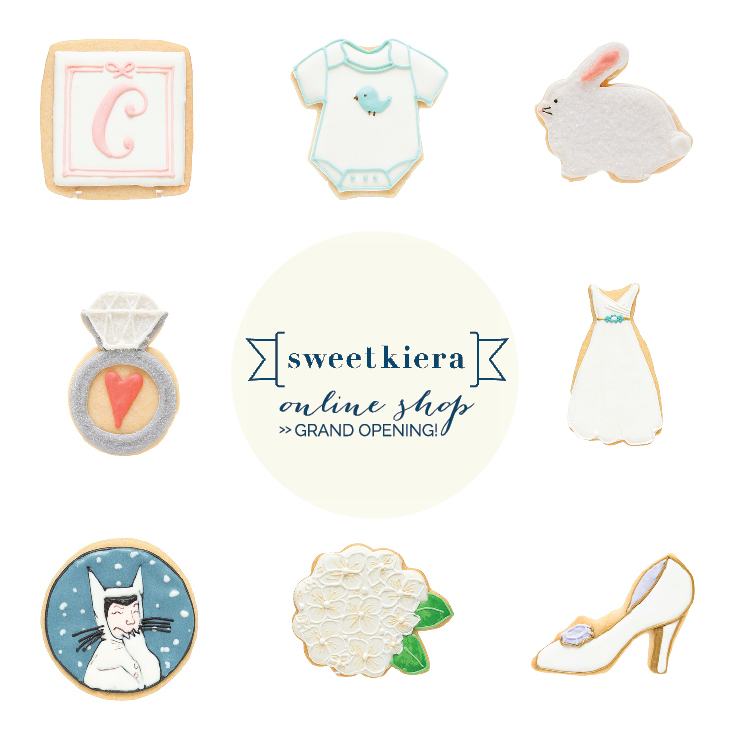 Check out my  new online shop  where you can now purchase a large selection of my hand-decorated cookie favors online!
