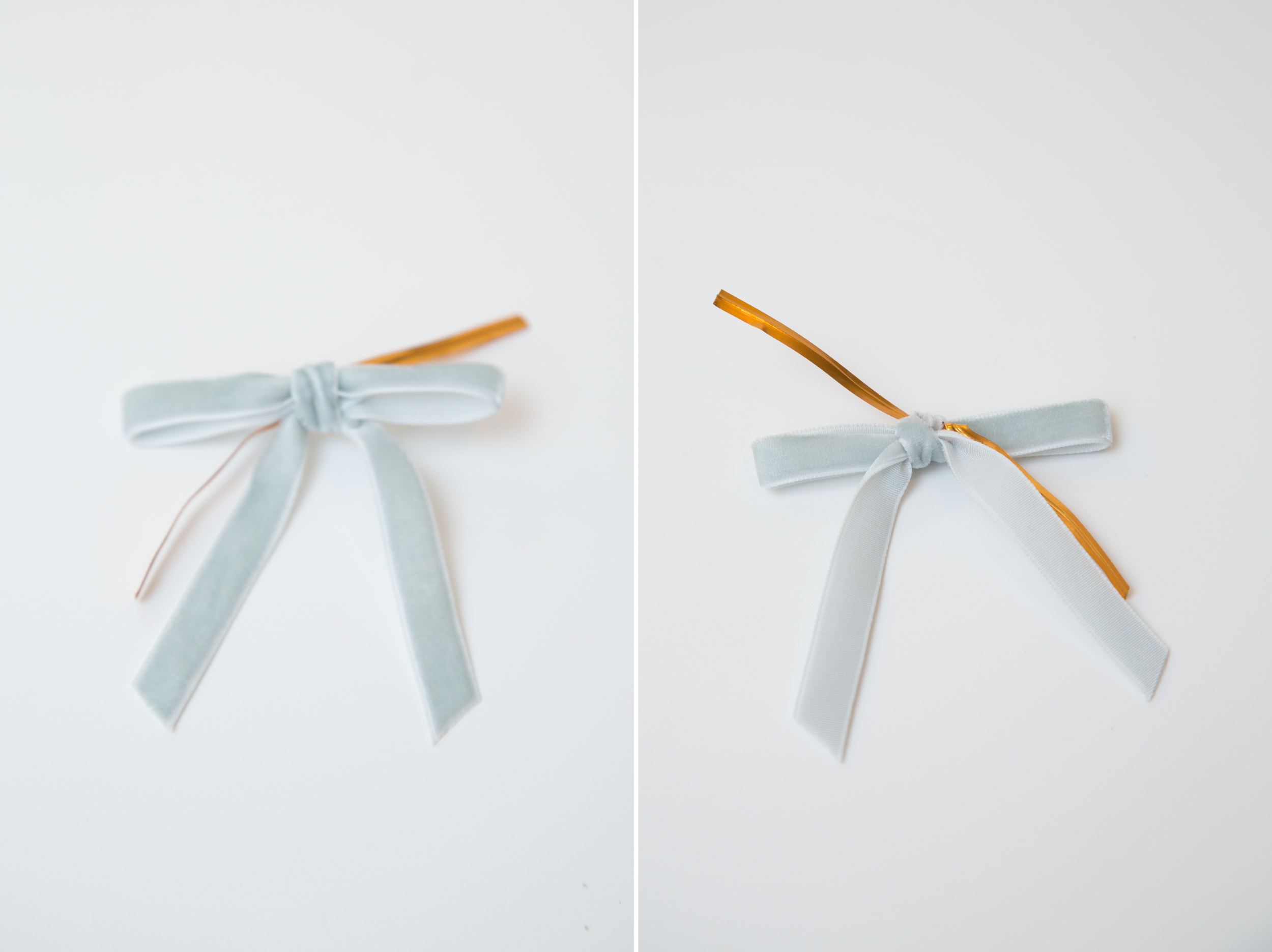Ribbon with Twist Tie Close-up