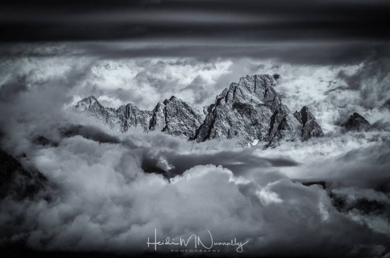 Shrouded Teton Range