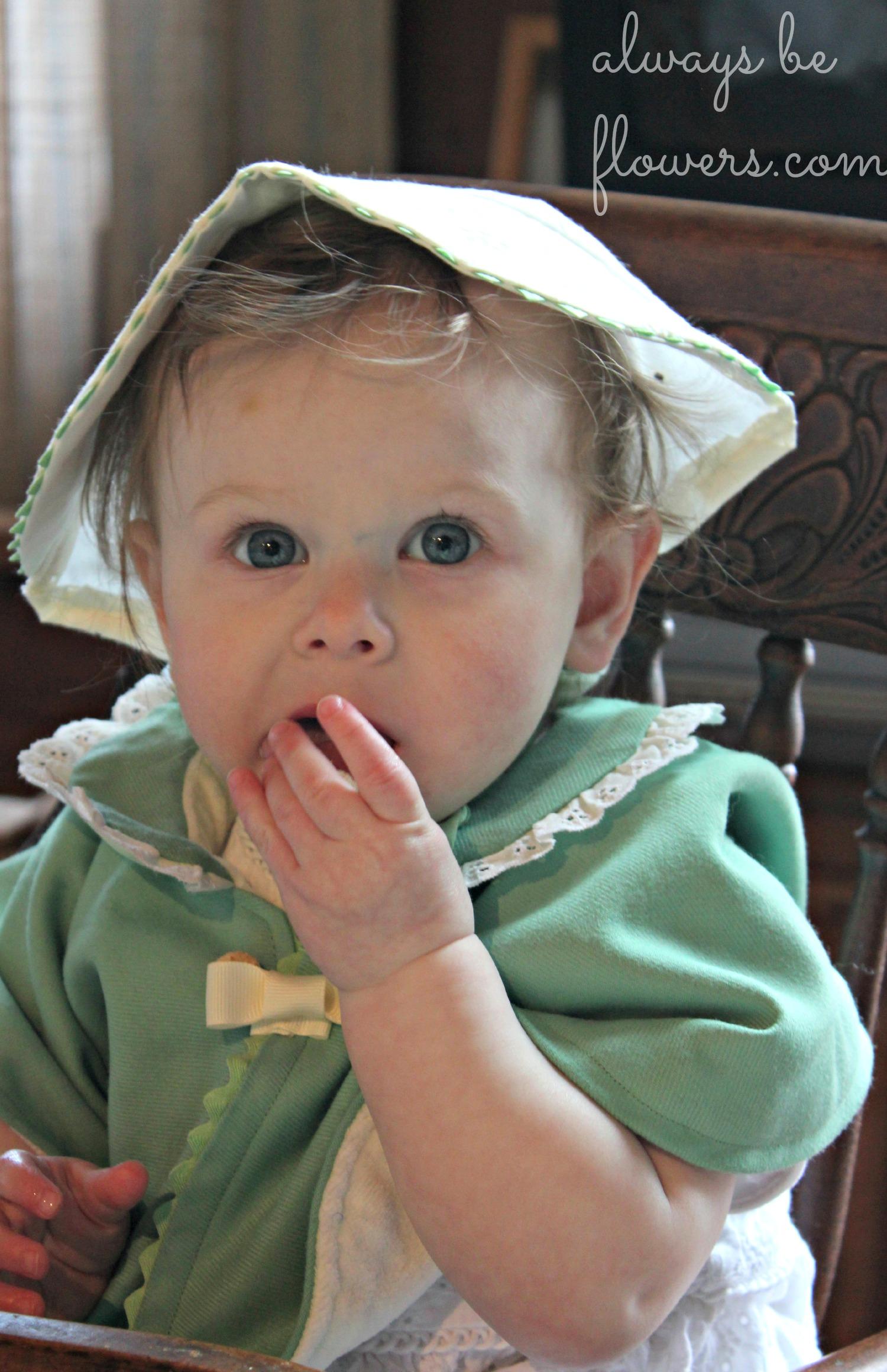 Yes, I realize she looks like a nun.
