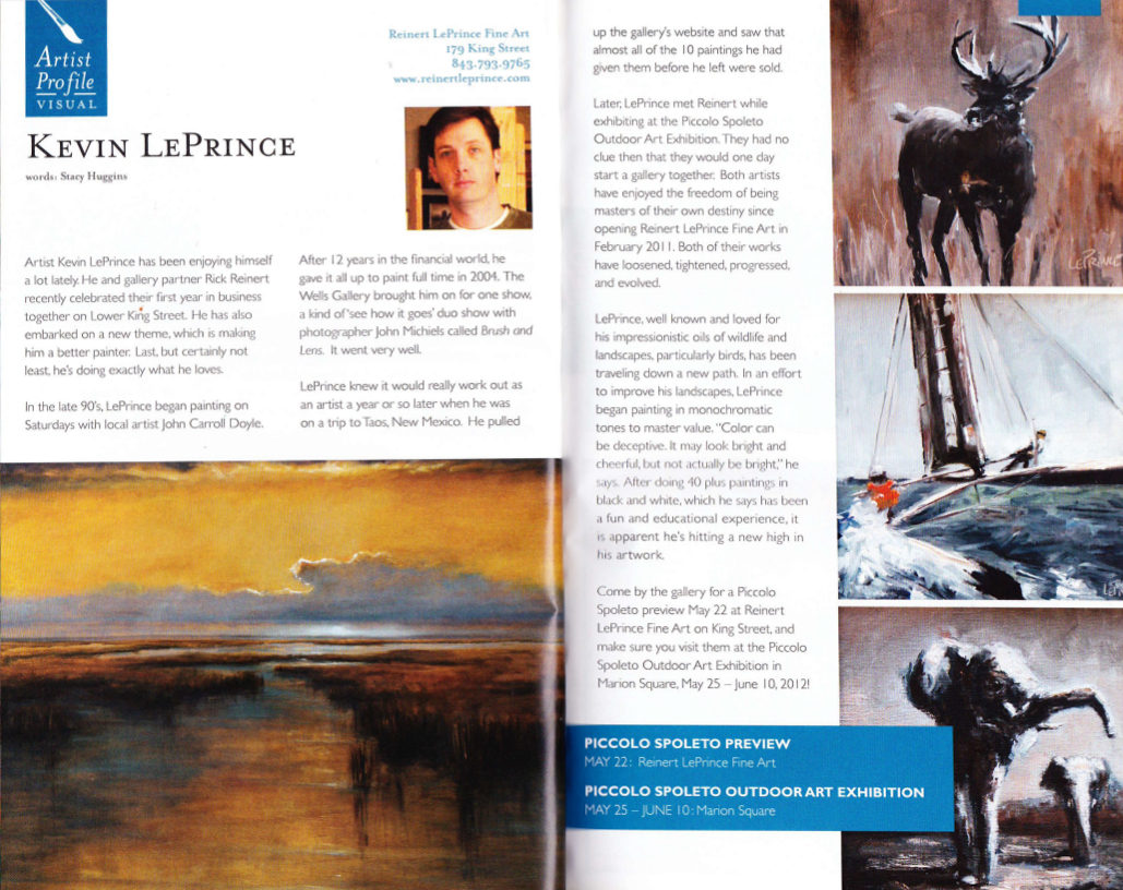 Art Mag | Spring 2012 | pages 32/33