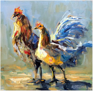 8x8 Oil Painting   $475