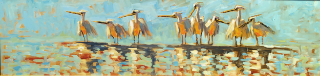 12x48 Oil by Kevin LePrince | $2600