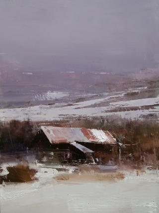 16x12 Oil by Tibor Nagy