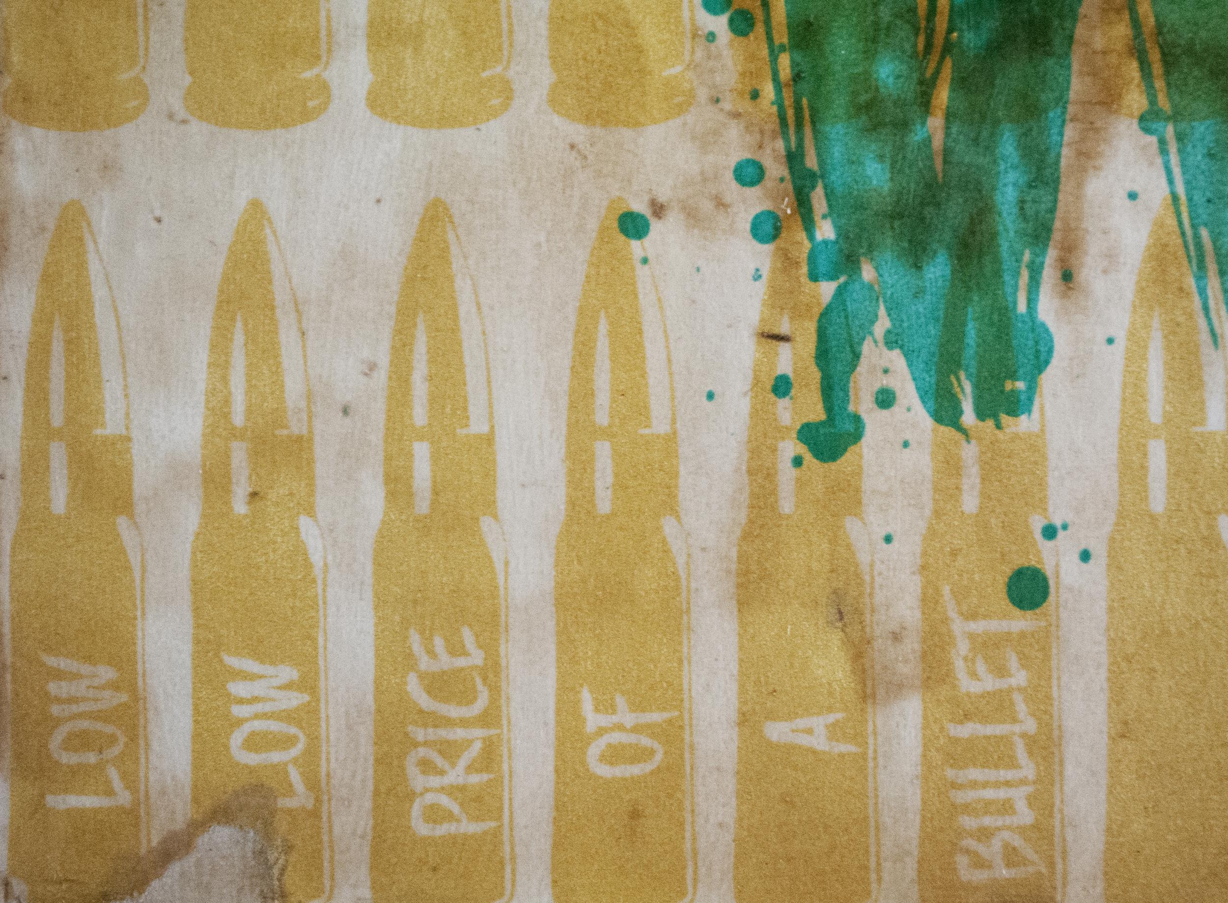 """""""Peace Not War"""" Detail"""