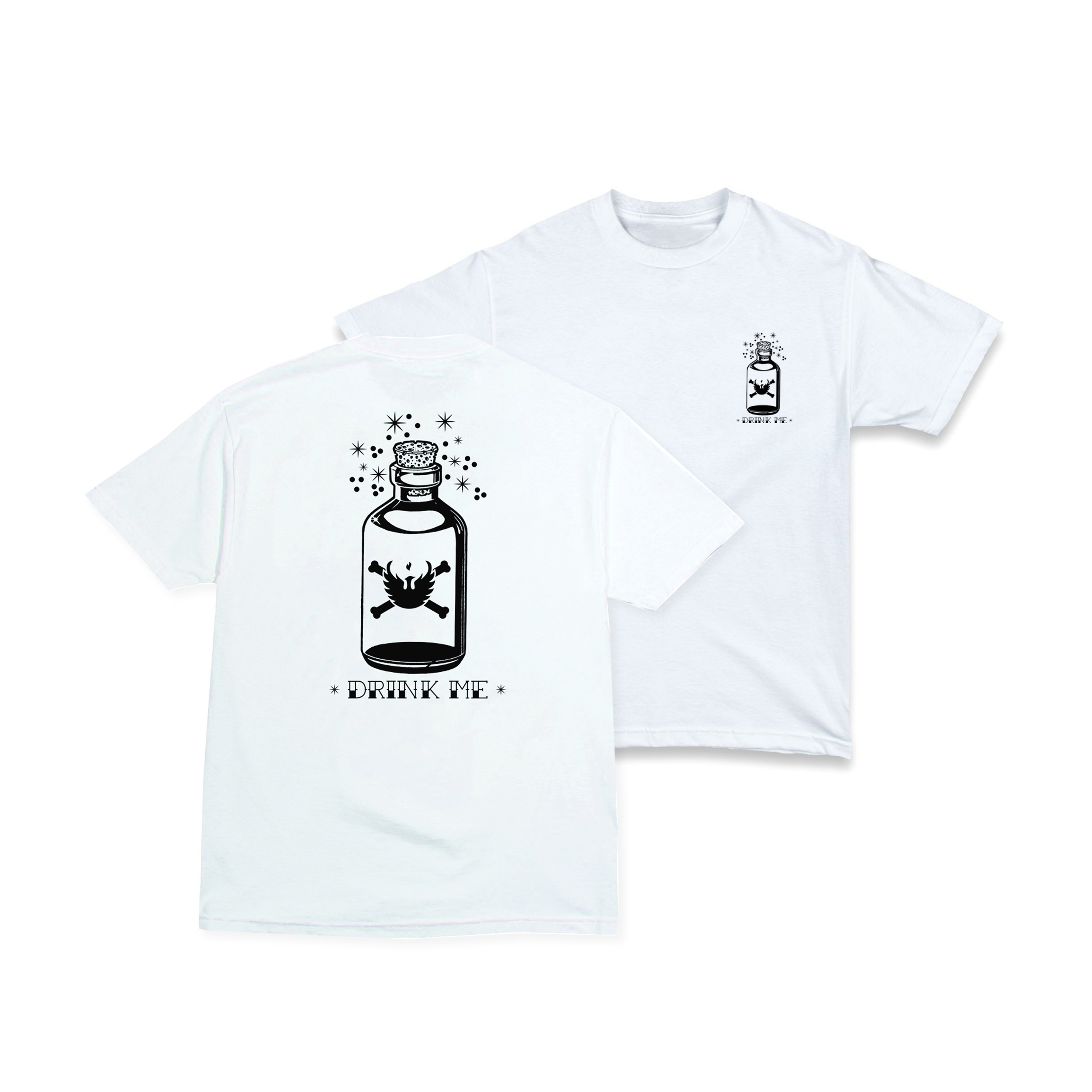 """""""Drink Me"""" Tee Now Available ..."""