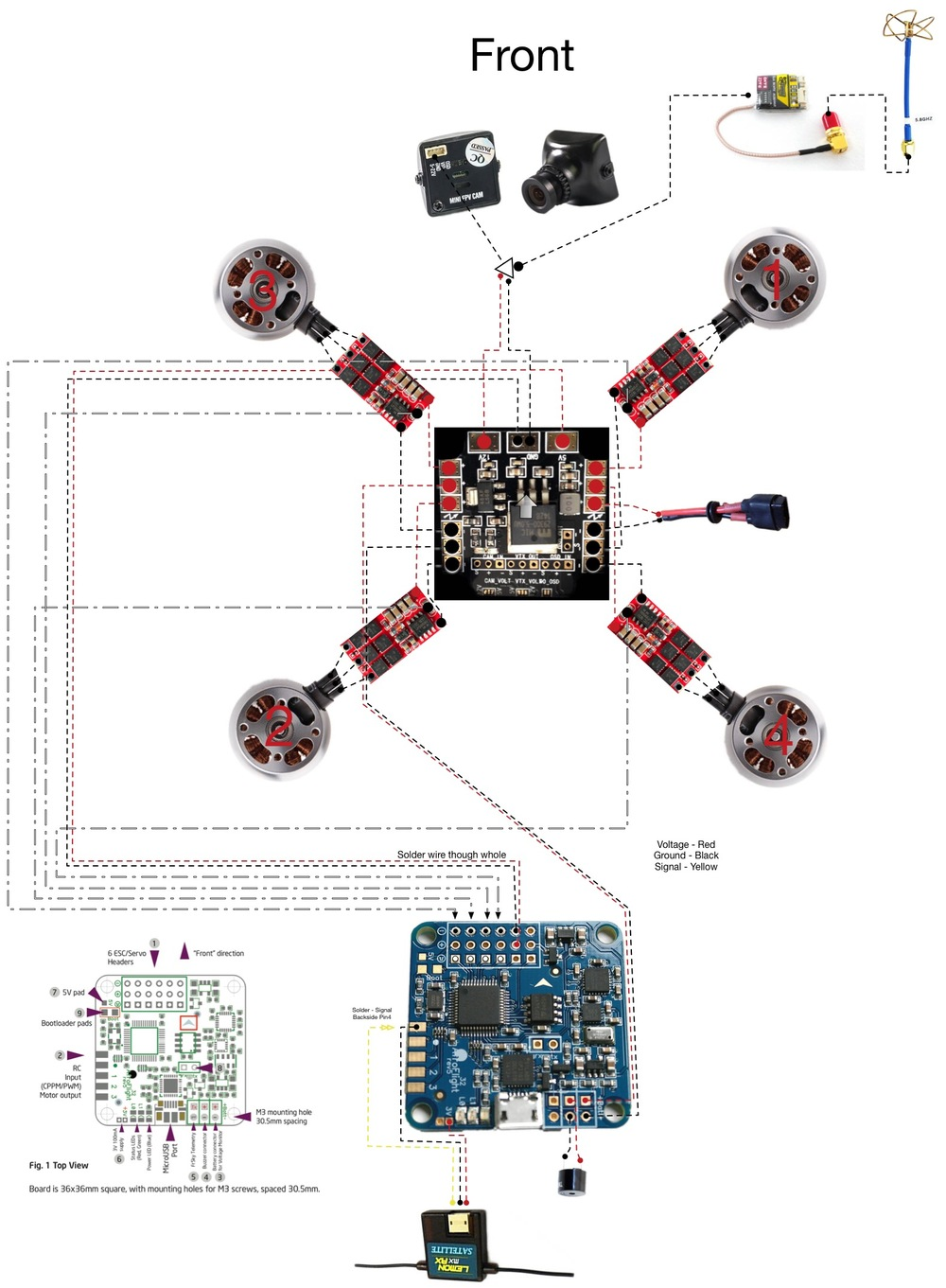 Diagram Further Pdb To Osd Wiring Diagram On 4s Lipo Wiring Diagram
