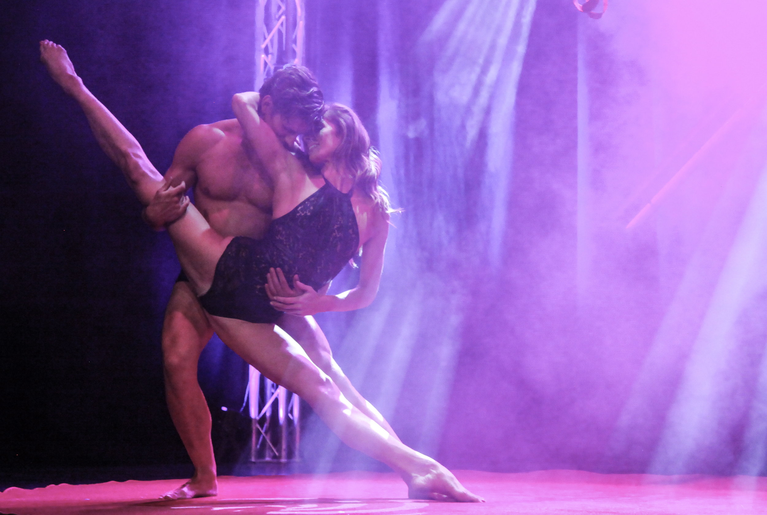 Aerial Straps Duo, duostraps, showact