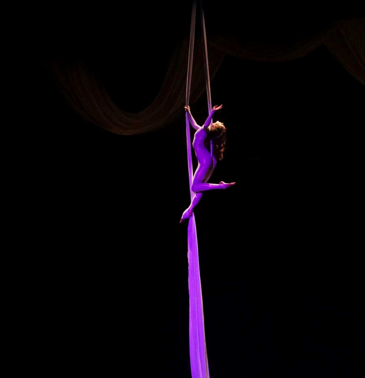 Aerial Silk Artist Berlin - Air Candy - Vertikaltuch Performance Showact