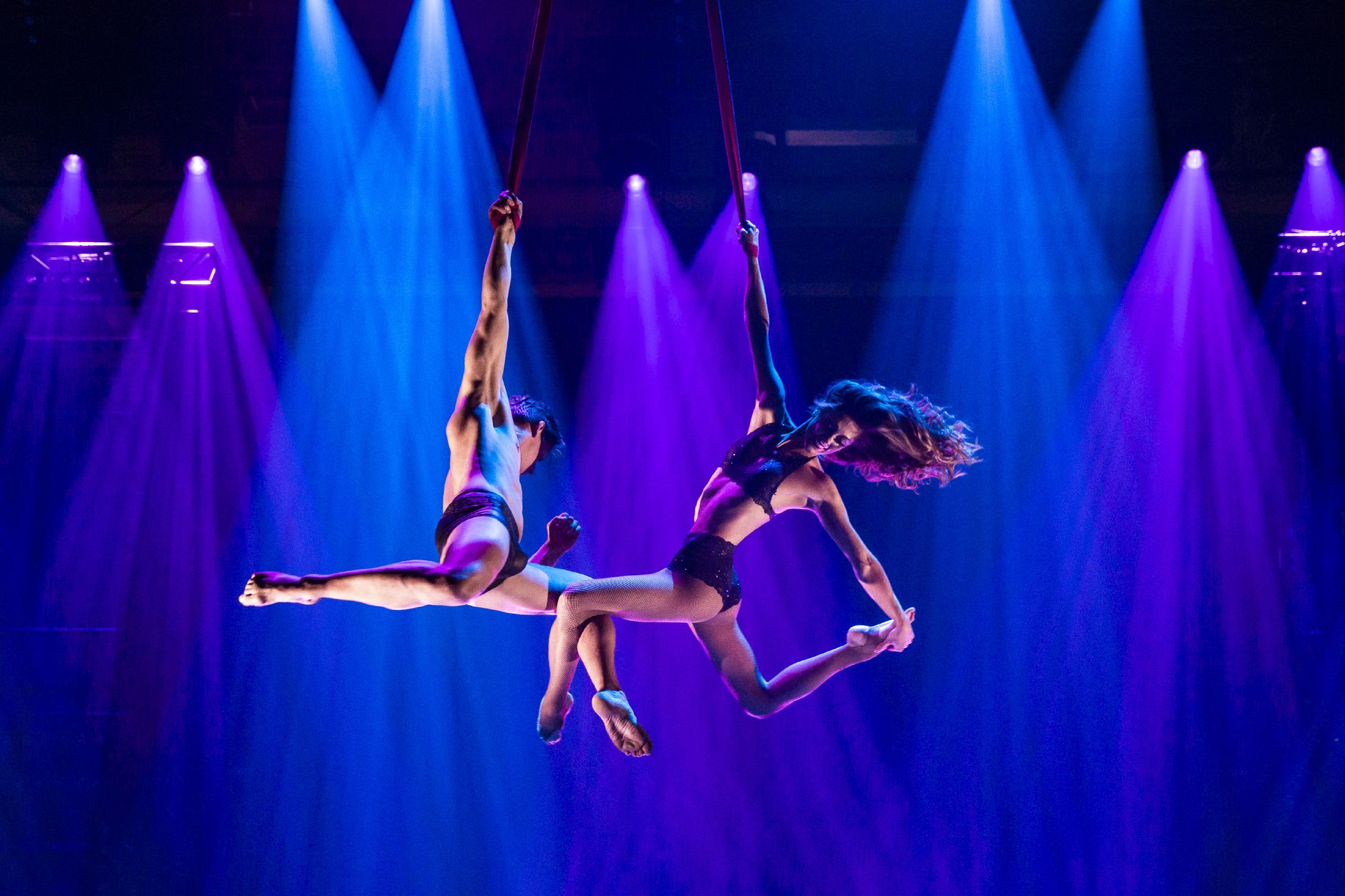 aerial straps, duo straps, akrobatik duo, luftartistik