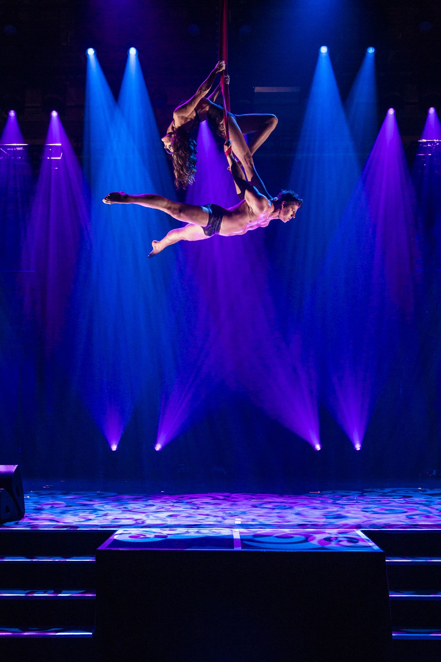 aerialstraps duo, duo strapaten, acrobatic couple, luftartistik showact