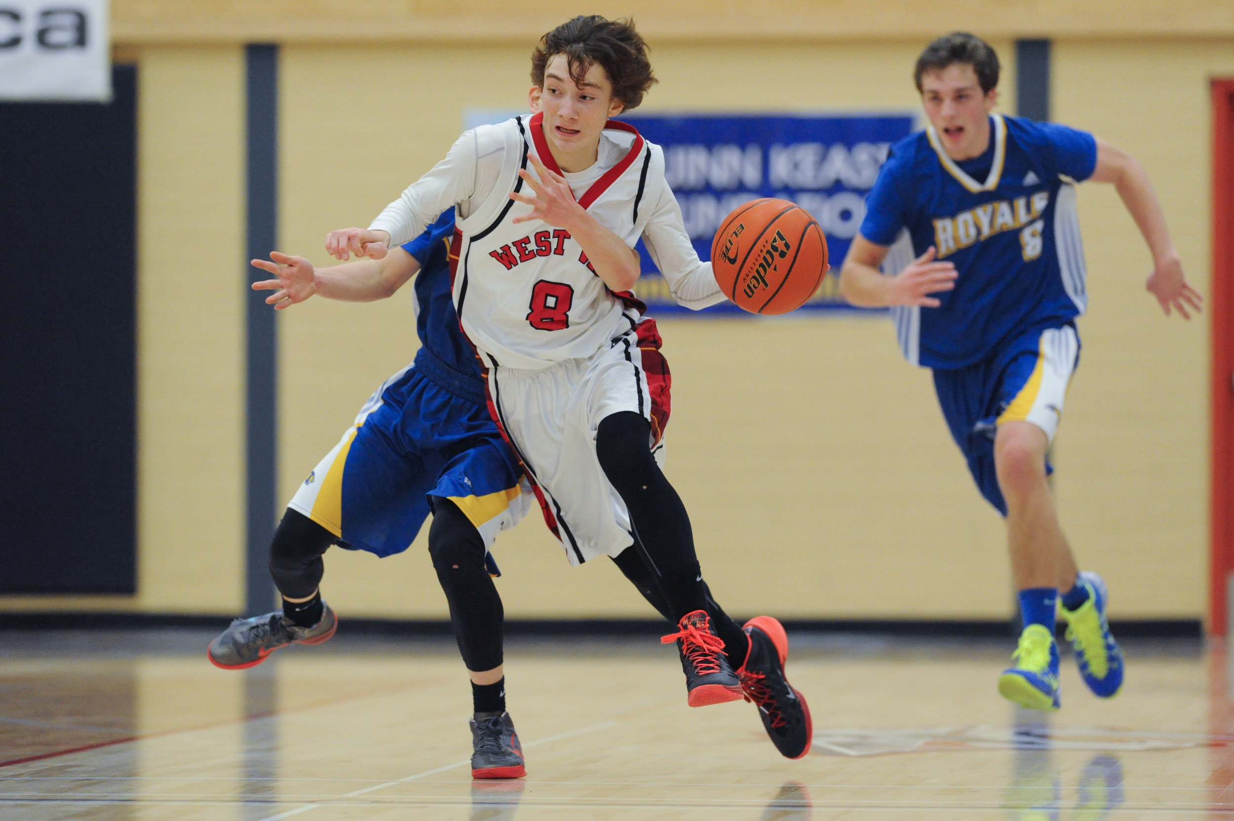 TOURNAMENT MVP LUKE RYAN HAD 25 POINTS IN THE SECOND HALF TO LEAD THE WEST VANCOUVER HIGHLANDERS TO THE FIRST EVER HOWE SOUND AAAA CHAMPIONSHIP