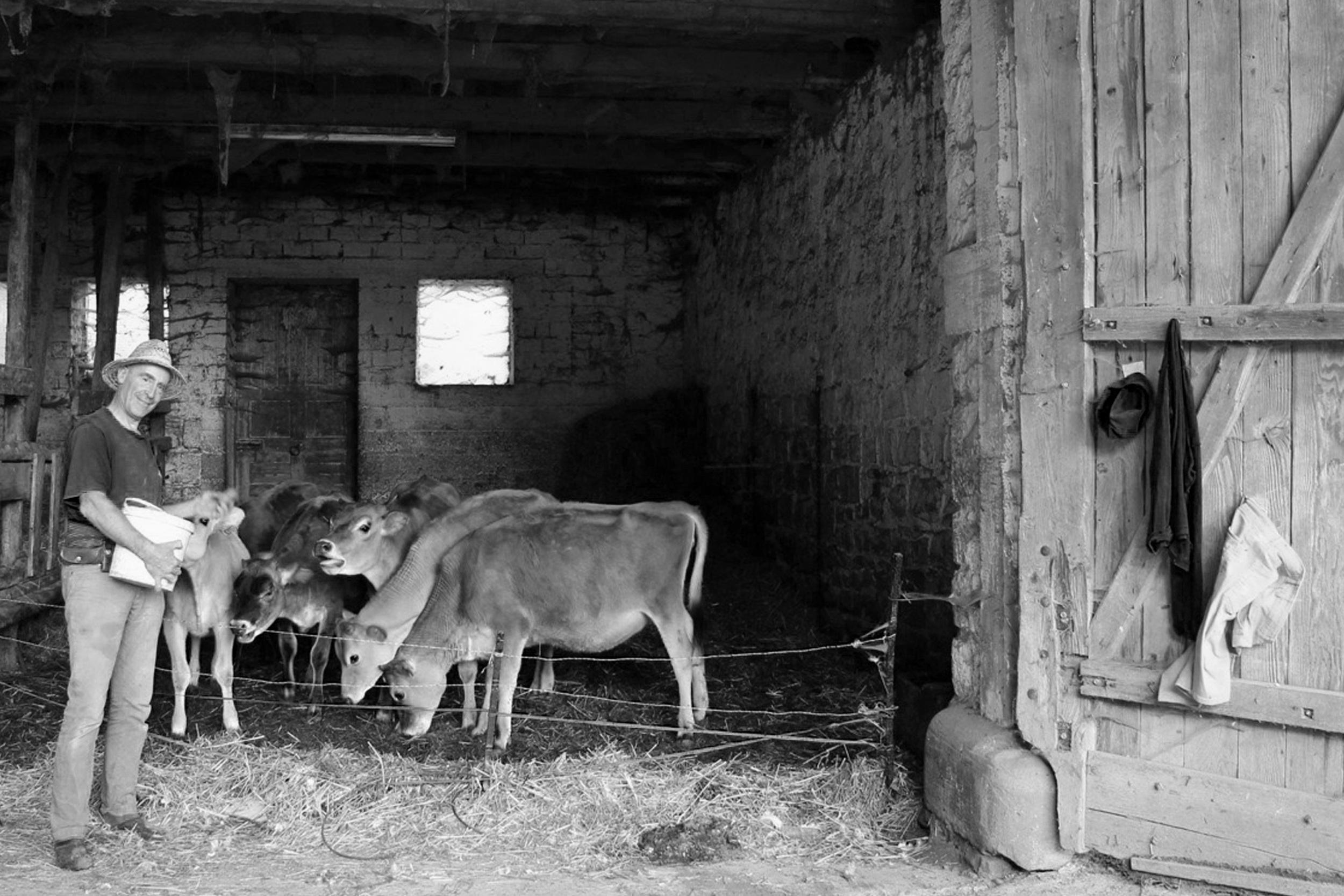 Antoine: Truttenhausen farm founder and cheese master