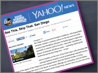 Good Morning America & Yahoo! feature LOUNGEsix.