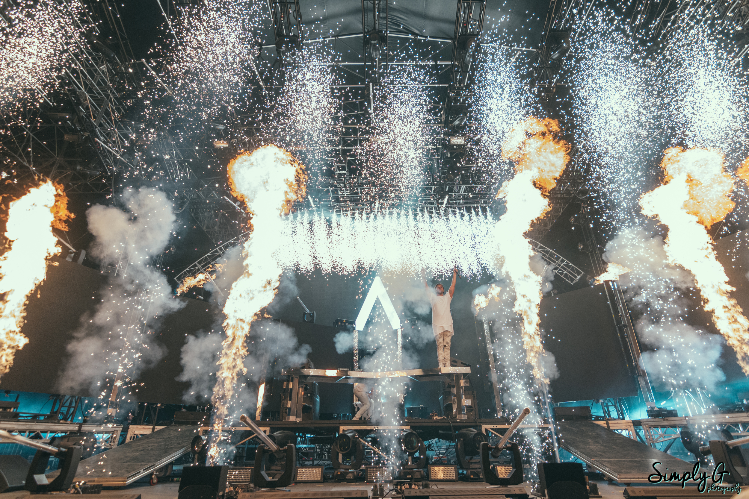 Axwell and Ingrosso at Coachella