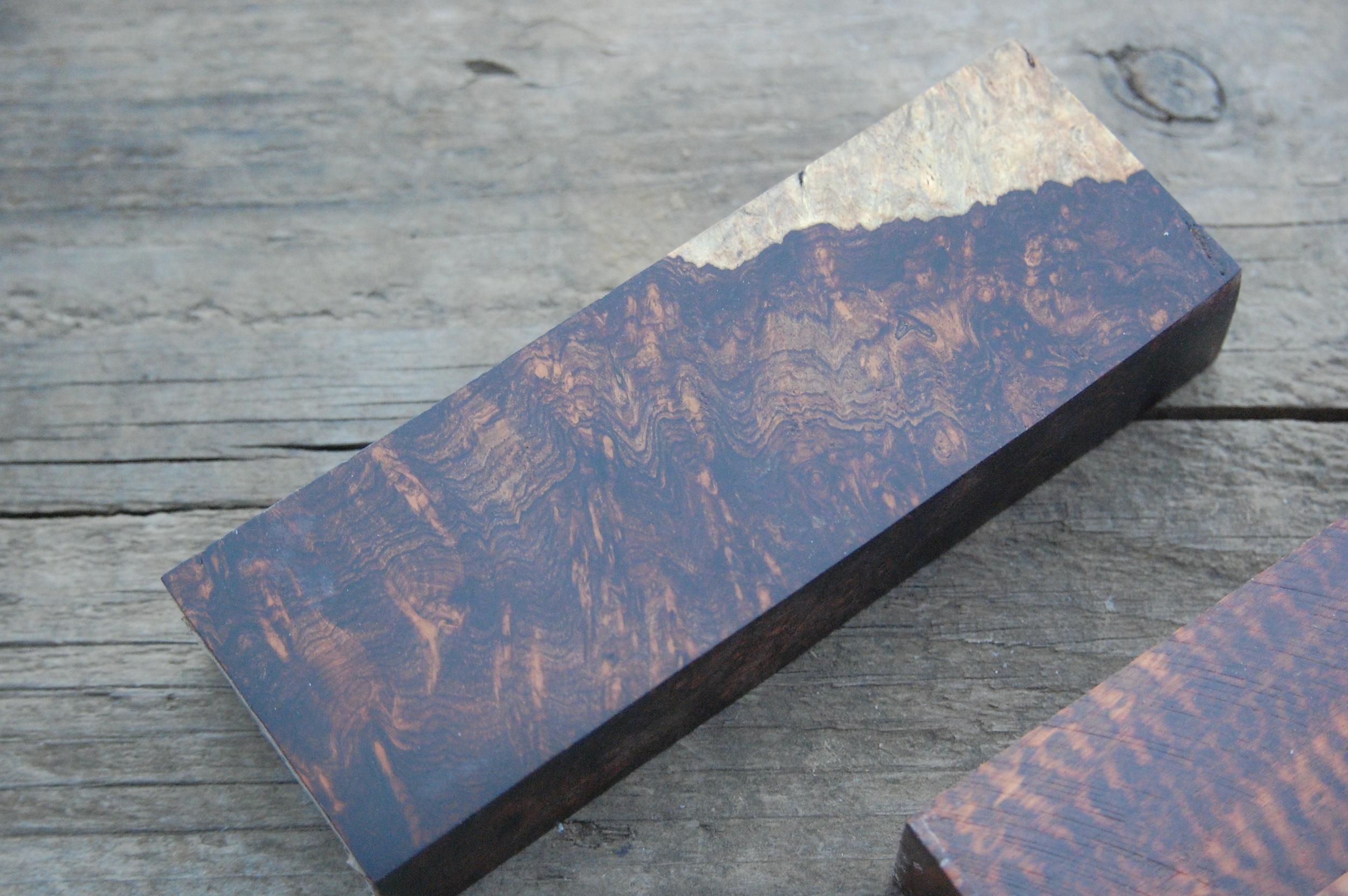 Exhibition grade rosewood burl.