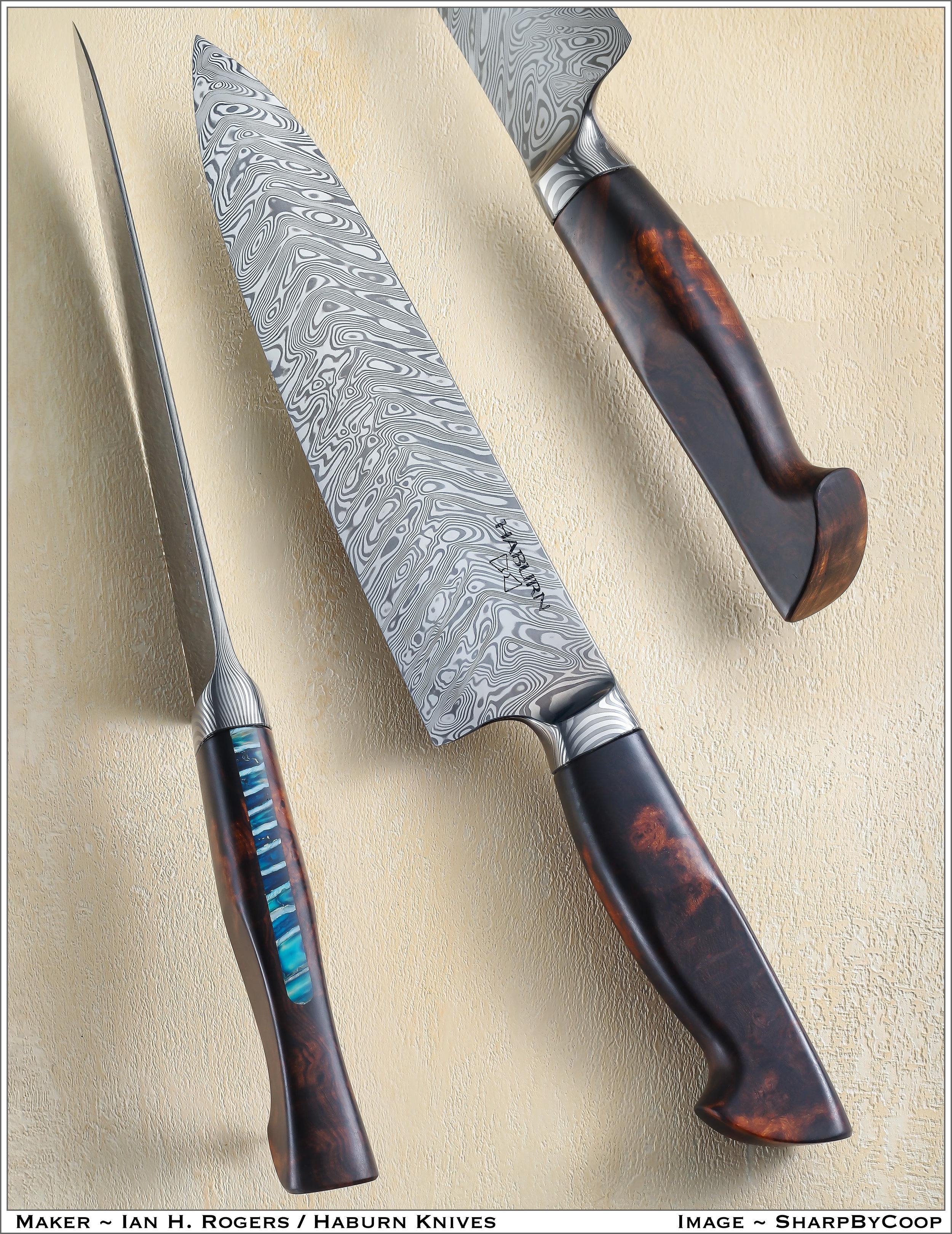 Sample Work - Haburn Custom Kitchen Knives and Personal