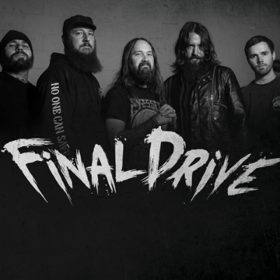 Final Drive (l to r): Ray Tucker (bass), Chris Nanney (guitar), Jordan Gaw (vocals), Nathan Easter (guitar) and Alex Wheeler (drums).