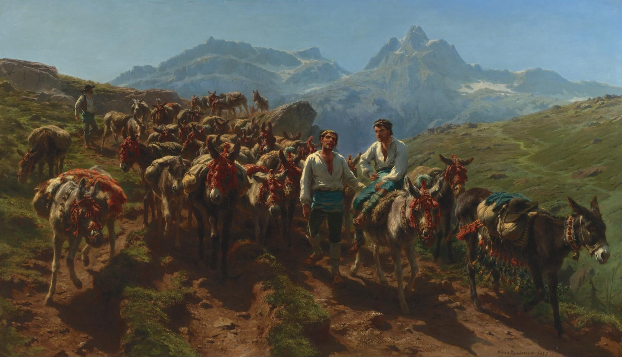 French muleteers.