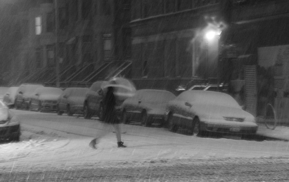 Umbrella in the Snow