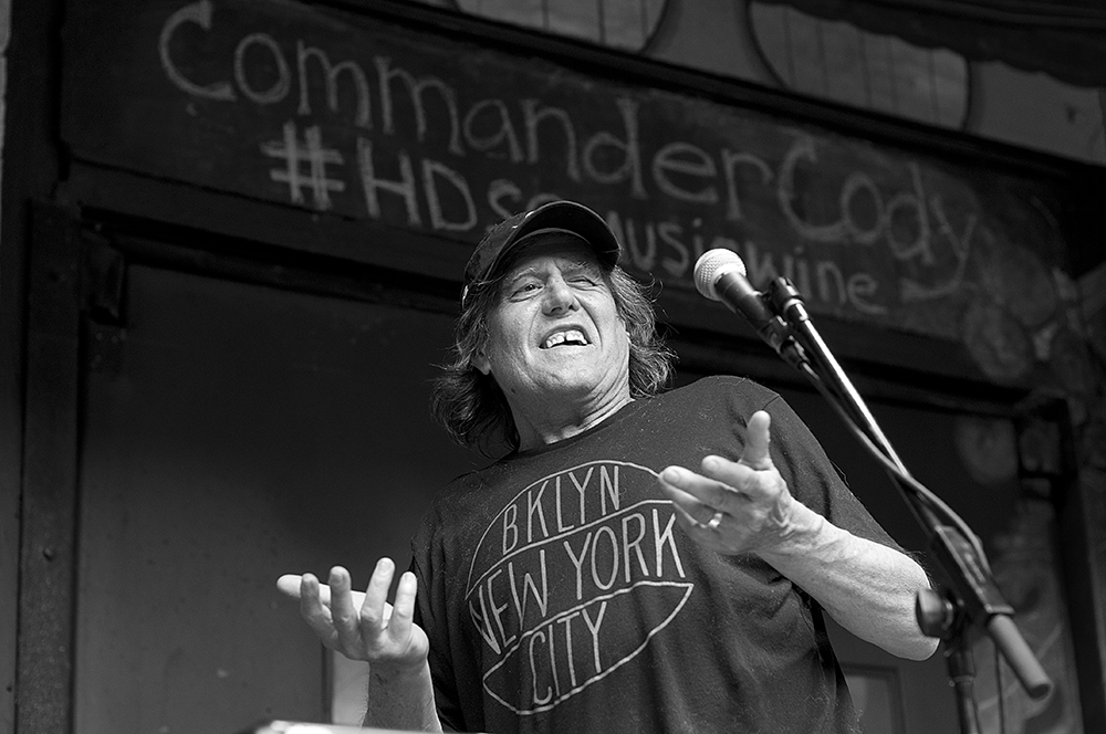 Commander Cody - New York City, June 10, 2014