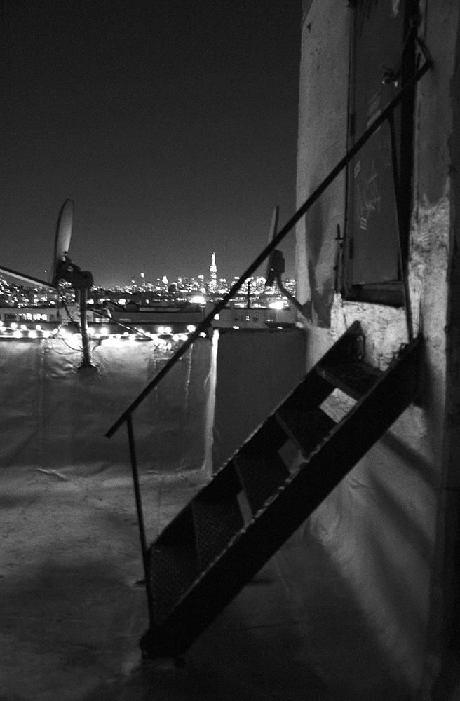Rooftop Stairs