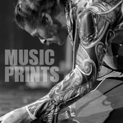 Music Prints  :   The musicians I have shot who are thankfully still with us. This section will continually grow and change as I cull through my archives and continue to shoot.