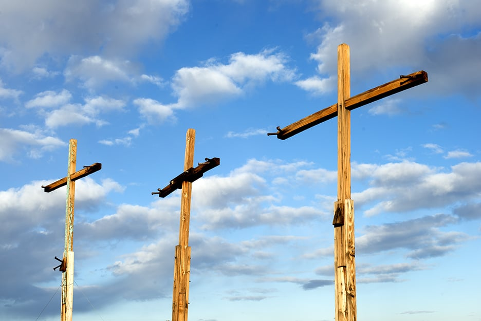 Crosses by  Noah Purifoy