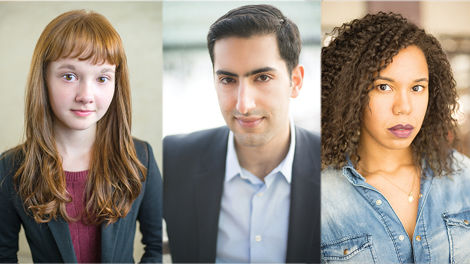 Taylor Richardson/Actor Kabir Chopra/Actor Lauryn Stallings/Journalist